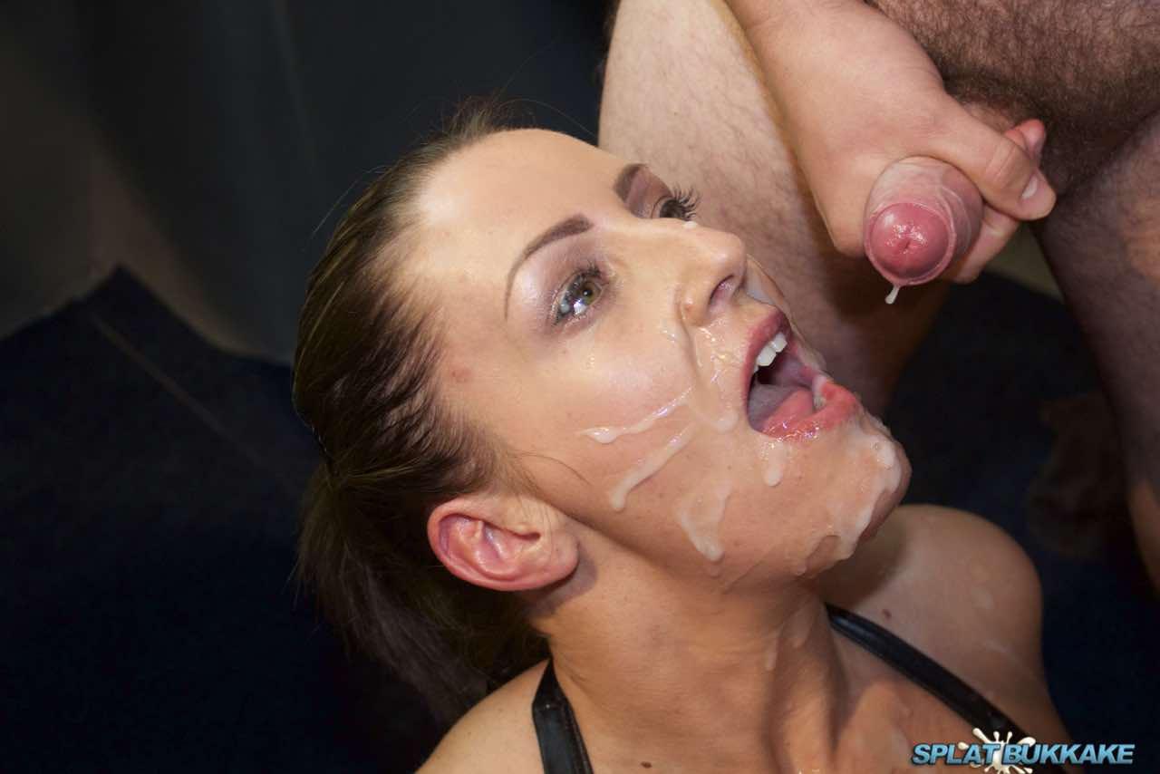 Sexy milf cum facial good