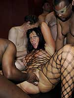Great British gangbang party