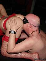 UK amateur swingers party gangbang